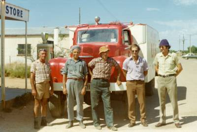 Appila Appliance and crew 1976
