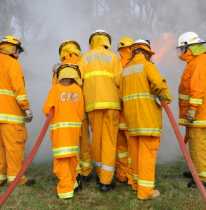 CFS Cadets in action