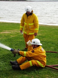 Hose work training