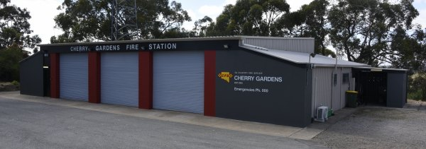 Cherry Gardens Air Support Shed