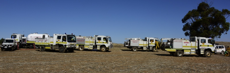 A collection of CFS Appliances and Farm Fire units